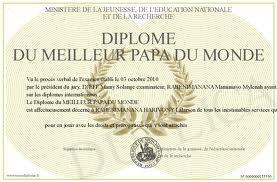 Diplome du meilleur papa toute les personne ke j aime le pluce au monde - Diplome du super papa a imprimer gratuit ...