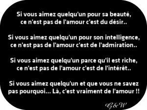 Le Véritable Amour...