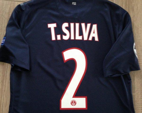 Maillot Extérieur PSG Thiago SILVA
