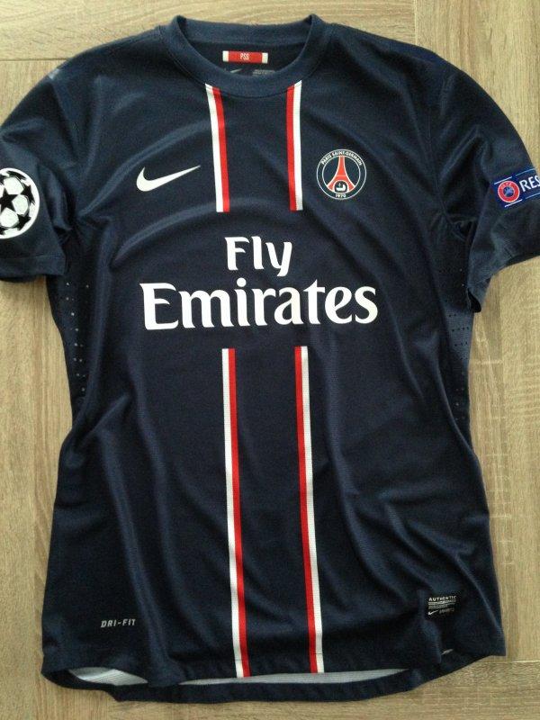 Maillot porté par T. SILVA - Match worn shirt T. SILVA (PSG) - Maglia indossata - 250 EUROS (VENDU)