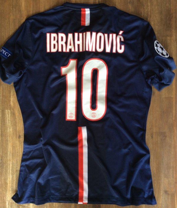 Maillot porté par Ibrahimovic contre l'Ajax