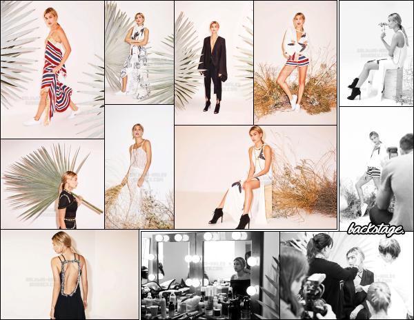""""""" • Hailey B. à réalisé un photoshoot pour la collection d'automne 2016 de Sass & Bide !Notre magnifique Hailey Baldwin à donc posé cette fois ci pour la nouvelle collection d'automne 2016 de la marque Sass & Bide. Le shoot est très beau. -"""