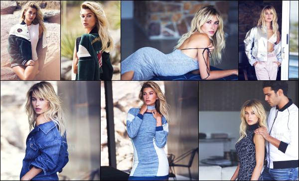 """"""" • Hailey Baldwin à réalisé un photoshoot pour la new collection de « GUESS Holiday »C'est encore un magnifique shoot que nous a fait la belle Hailey Baldwin pour la marque Guess dont elle est l'égérie depuis maintenant quelques temps. -"""