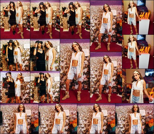 - 15.04.16 ─ Hailey Baldwin et ses amis étaient présents au premier jour du festival « Coachella » à Indio (CA) ! [/s#00000ize]Évidemment, Hailz ne pouvait pas manquer cet événement de taille et tant attendu par tous, étant l'égérie de la collection Coachella de chez H&M. -
