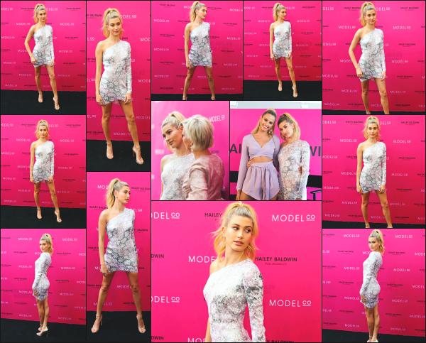 - 05.12.16 ─ Hailey Baldwin est photographiée alors qu'elle était au « HB for Modelco Launch Party » ds -Sydney ! [/s#00000ize]ModelCo lance sa toute première gamme de rouge à lèvre en collaboration avec notre Hailey, en édition limitée malheureusement... Une très jolie tenue.     -