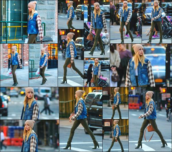 - 08.11.2016 ─ Hails Baldwin est photographiée alors qu'elle se baladait tranquillement dans les rues de New York  [/s#00000ize]Je trouve Hailey vraiment trop jolie sur ce candid. Elle allait surement faire un peu de shopping dans les rues de New York. C'est donc un très jolie top !  -