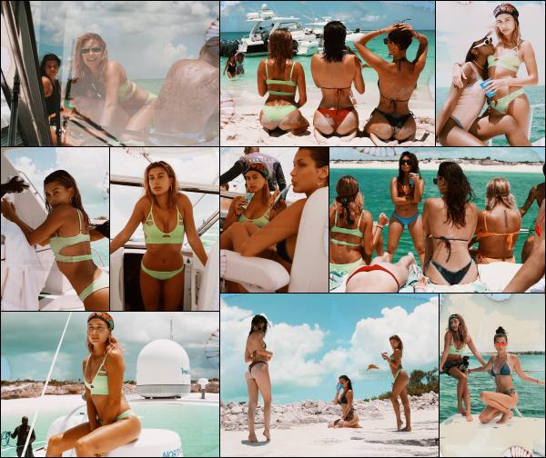 """"""" • Hailey et quelques unes de ses amies ont réalisés un shoot par RENELL MEDRANOSe shoot à été réalisé à l'occasion de l'anniv' de la belle Kylie Jenner. Bella Hadid, Kendall Jenner & Justine Skye étaient présente aux côtés de Hailey. -"""