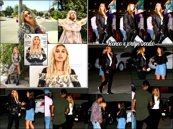 - 31/08/16 - Hails était présente à la soirée de lancement pour « Bohoo x Jordyn Woods » dans Los Angeles. La sortie d'un nouveau shoot pour le magazine ES Magazine est également sortie se jour là. Les photos sont sublimes. C'est un très beau top pour tout !   -