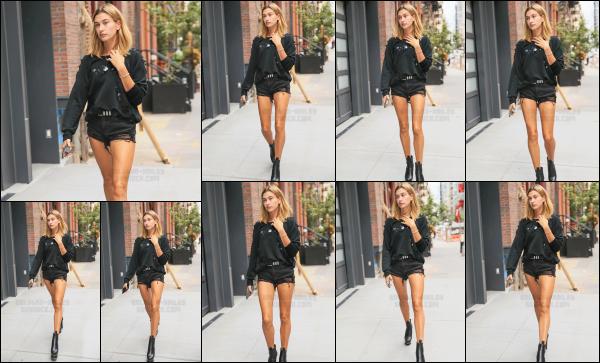 - 06/09/16 - Hailey Baldwin est aperçue alors qu'elle arrivait a l'appartement de Kylie et Kendall -  New York. Un peu plus tard dans la soirée, Hails B. est vue, quittant cette fois l'appartement des deux soeurs pour se diriger vers une boîte dans New York toujours.    -