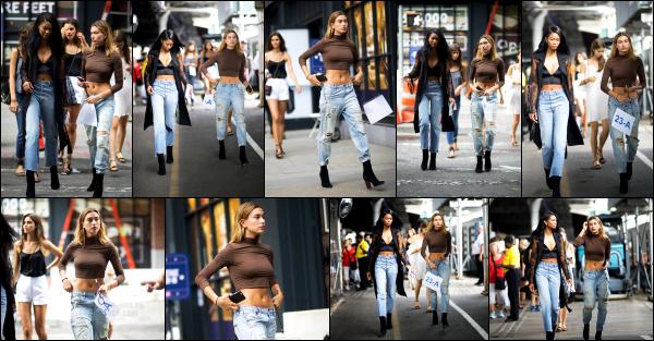 - 09/09/16 - La belle Hailey Baldwin est photographiée alors qu'elle se baladait dans les rues -  Manhattan ! Juste avant, Hailey répétait pour le show #TommyNow qui aura lui le soir même.  La belle était accompagnée d'une de ses amies lors de cette journée.   -
