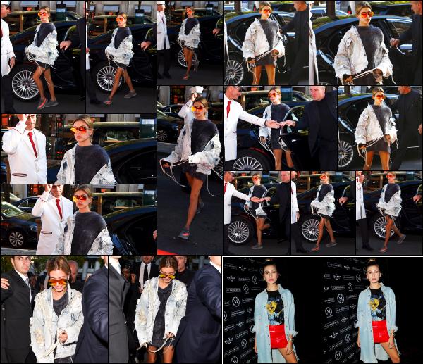- 04/10/16 - La belle Hailey Baldwin est aperçue alors qu'elle se baladait tranquillement dans les rues - ParisLe soir même, Hailey à assisté a une soirée organisé par Eleven Paris toujours dans Paris, mais malheureusement il y avait peu de photos. C'est un top !  -