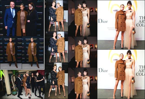 - 25.10.16 ─ Notre sulfureuse Hails Baldwin était présente à l'évènement organisé par « Dior » dans New York City.[/s#00000ize]H. était accompagnée de son amie Bella Hadid lors de cet évènement et elles étaient toute les deux très jolie. Plus tôt, elle était à l'event d'un magazine. -