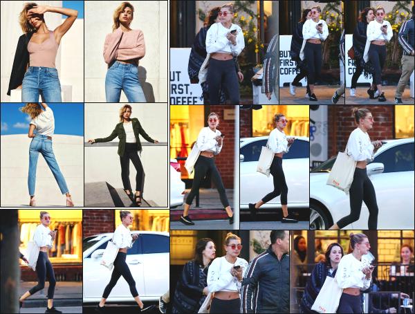 - 23.01.17 ─ Notre belle Hailey Baldwin est photographiée alors qu'elle se baladait dans les rues de Los Angeles ![/s#00000ize]Hail' portait une tenue plutôt sportive je trouve! Quelques clichés d'un shoot réalisé pour H&M sont également sorties ses derniers jours. Elle est superbe -