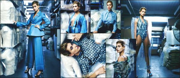 - 29.01.17 ─ Notre Hailey Baldwin est photographiée alors qu'elle quittait l'appartement de Gigi Hadid à Manhattan[/s#00000ize]Nous retrouvons Hailey dans une tenue spéciale mais je trouve qu'elle lui va bien !  Quelques clichés pour Harper's Bazaar Magazine Turkey sont sorties !  -