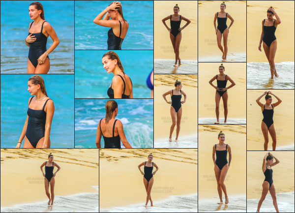 - 03.02.17 ─ Notre ravissante Hailey Baldwin est photographiée sur la plage de Honolulu avec des amies à Hawai ![/s#00000ize]Hailey profite d'un peu de son temps libre pour se reposer à la plage !  De nouveau clichés pour Harper's Bazaar Magazine Turkey sont sorties ces jours ci  -