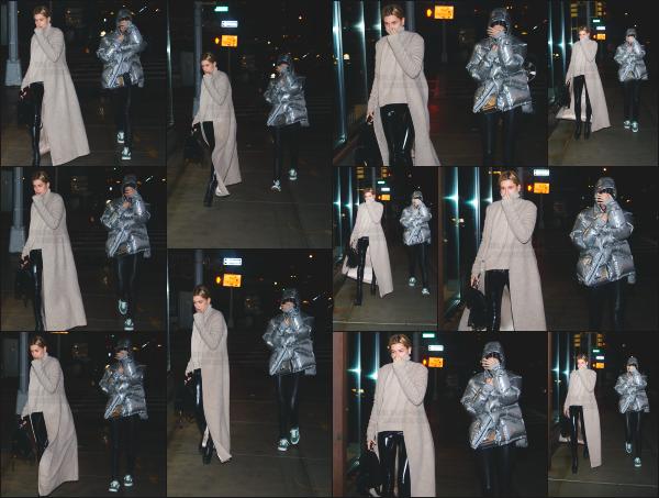 - 12.02.17 ─ Hails et Kendall sont photographiées alors qu'elles arrivaient à l'appart de Daniel Chetrit à Manhattan ![/s#00000ize]Hailey portait une tenue très simple que j'aime plutôt bien mis à part la texture de son pantalon... Jolie sortie entre copines tout de même ! C'est un top. -