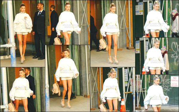 - 15.02.17 ─ Notre Hailey Baldwin est photographiée ce jour là alors qu'elle allait au défilé « Yeezy » à Manhattan ![/s#00000ize]Hailey était habillé de façon très classe je trouve, certainement pour l'occasion du défilé ou elle va assister. C'est donc un jolie top pour cette sortie. Avis ? -
