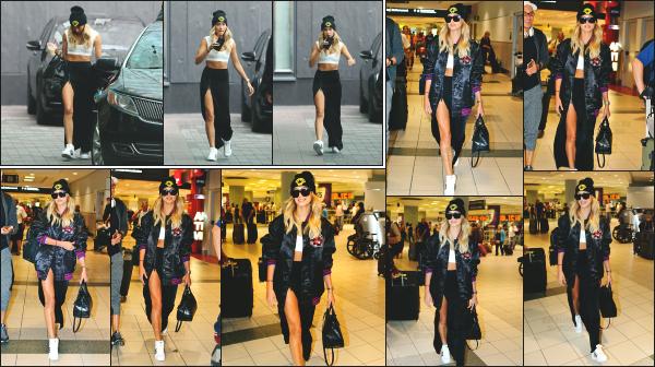 - 18.06.16 ─ Hailey Baldwin est photographiée alors qu'elle arrivait à l'aéroport International Pearson de Toronto ![/s#00000ize]Un peu plus tard dans la journée, Hailey a été photographiée en arrivant à son hôtel, toujours dans Toronto avec une boisson à la main. J'aime la tenue !  -