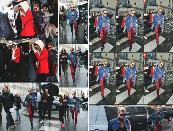 - 01.03.17 ─ Notre Hailey Baldwin est photographiée avec une de ses amies, Kendall Jenner dans les rues de Paris ![/s#00000ize]Journée assez chargé pour Hailey ! Elle s'est rendue dans la boutique Dior avec Kendall Jenner, ainsi que dans celle d'Hermès après avoir quitté un restau  -