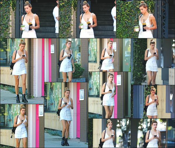 - 14.03.17 ─ Notre Hailey Baldwin est aperçue, allant chercher un café chez « Alfred Coffee » dans West Hollywood[/s#00000ize]Hailey B profite du beau temps de la californie pour mettre à présent des tenues un peu plus légère. Un peu plus tard, elle est vue avec sa boisson. Avis?    -