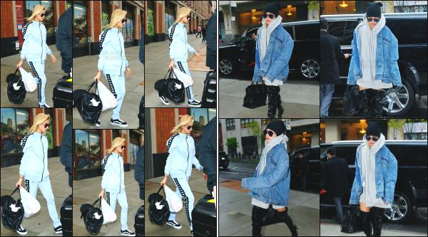 - 05.05.17 ─ Notre ravissante Hailey Baldwin est photographiée, quittant le « JG Melon »  dans - Greenwich Village ![/s#00000ize]  H' est également photographiée plus tard dans la journée alors qu'elle se dirigeait vers l'aéroport JFK de New York pour une destination encore inconnue!  -
