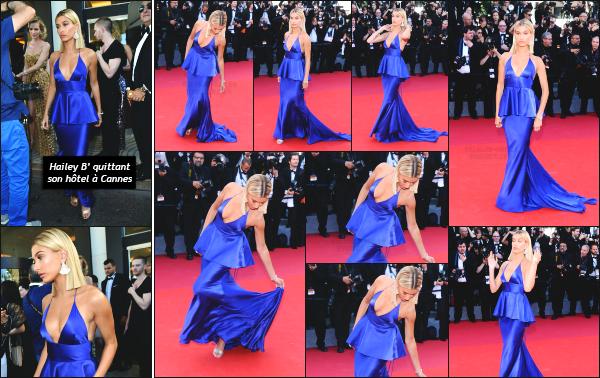 - 17.05.17 ─ Hailey' Baldwin est photographiée sur le tapis rouge pour la 70ème cérémonie du festival de Cannes ![/s#00000ize] Hailey était donc présente sur la tapis rouge du festival de canne comme prévue! Je n'aime pas vraiment sa robe malheureusement... C'est donc un flop !  -