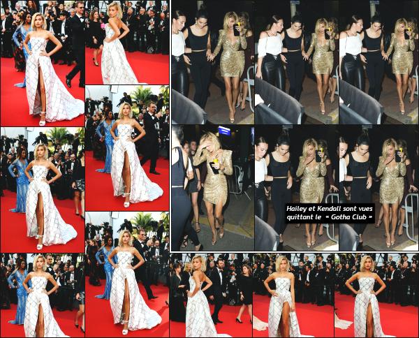 - 24.05.17 ─ Hailey' Baldwin est photographiée sur le tapis rouge pour la 70ème cérémonie du festival de Cannes ![/s#00000ize] Hailey était présente ce soir là pour la diffusion du film « The Beguiled » !  Je trouve que sa robe lui va vraiment très bien, et est très belle. Un beau top ! -