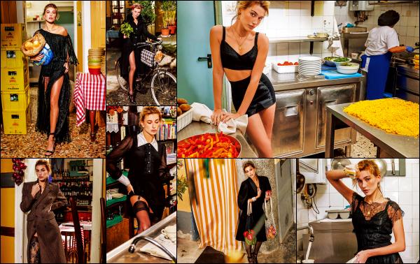 """"""" • Hailey B. à réalisée un shoot pour le magazine « Vogue Japan » édition juillet 2017 !   -"""