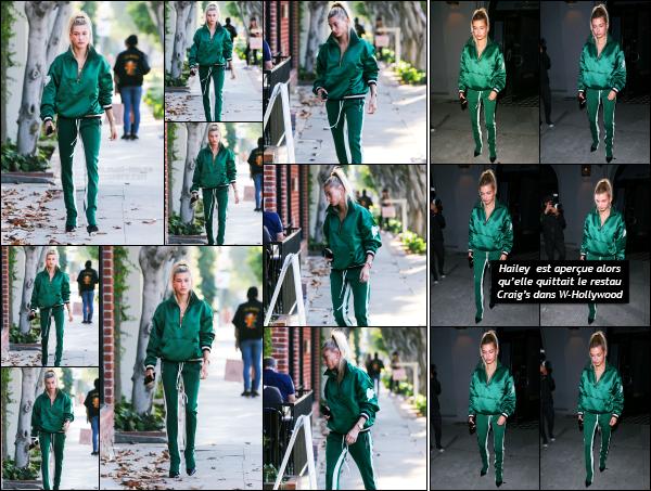 - 02.06.17 ─ Notre Hailey Baldwin est photographiée alors qu'elle se promenait dans les rues de West Hollywood ![/s#00000ize]C'est un peu plus tard dans la journée, et dans une tenue différente que nous retrouvons Hailey. Je n'aime pas du tout le look pour le coup, c'est sport !! -