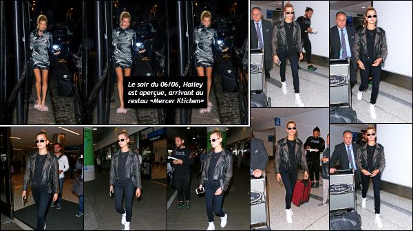 - 07.06.17 ─ La belle Hailey Baldwin est photographiée, alors qu'elle sortait de l'aéroport « LAX » de Los Angeles ![/s#00000ize]Hail est donc de retour dans l'état de Californie, et plus préciesement à Los Angeles. Elle va pouvoir profiter du beau temps qu'il y fait ! Bof pour la tenue. -