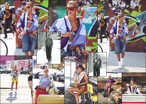 """"""" • Hailey à réalisée un shoot pour le magazine « Harper's Bazaar » novembre '18 !  -"""