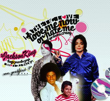 « Si on croit vraiment a quelque chose, il faut y croire jusqu'au bout et le faire. »  Michael Jackson. ♥