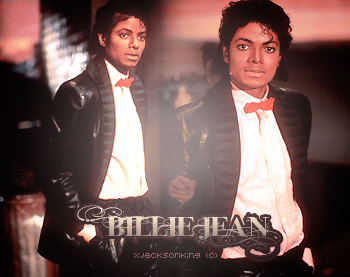 . ~ Billie Jean is not my lover ♪She's just a girl who claims that I am the one ! .