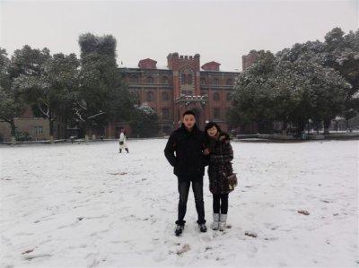 La beauté de la neige
