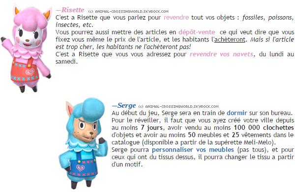 Revente & Retouches (+ comment réveiller Serge?)