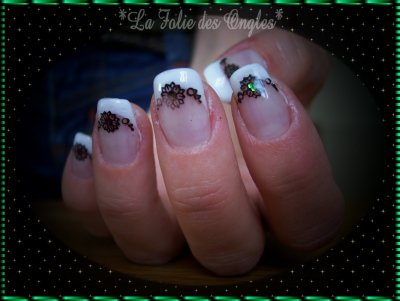 "Nail art stamping konad idem...""Power/Flowers"""