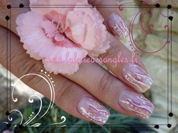 glitter rosy
