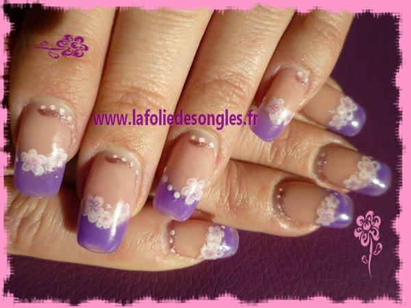 Cameleon fleuri