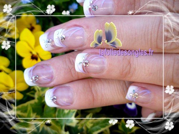 Nail art Fraicheur de Printemps