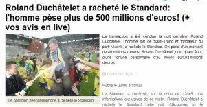 Le Standard racheté par la 6eme fortune du pays !