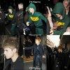 14/03/11:  Justin rentre dans son hôtel aprés y avoir rencontré quelques fans +  15/03/11: Justin sortir de son hôtel /  14/03/11: Miley quitte son cours de gym habituelle