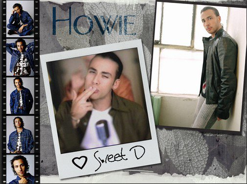 "==""BACKSTREET BOYS""== == Howie Dorough"