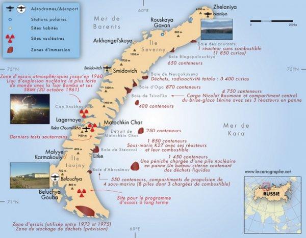 le désastre de la mer de kara