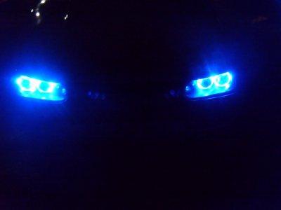 Réglage des LED (10 par côté d'optique :o )