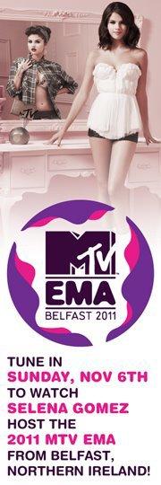 Promo pour les MTV EMA