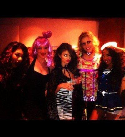 Selena a fêté Halloween sur cène