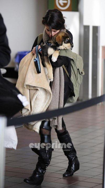 Selena avec Baylor rentre à Los Angeles.