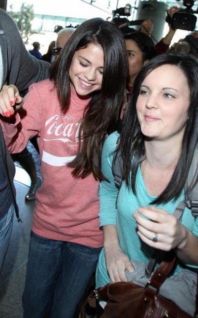 Selena  un départ très mouvementé pour l'Irlande