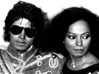 Michael Jackson et Diana Ross
