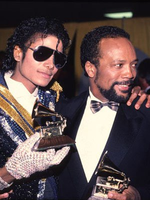 Michael Jackson et Quincy Jones